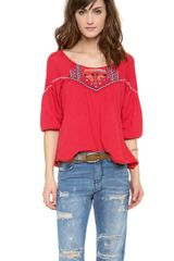 Free People Santa Fe Top - Lyst