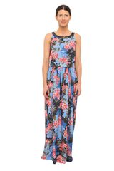 Love Moschino Printed Maxi Dress - Lyst