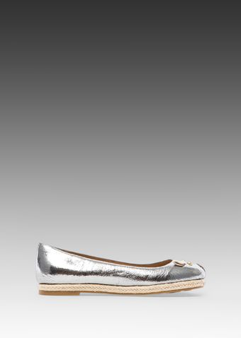 Marc By Marc Jacobs Ballerina in Metallic Silver - Lyst