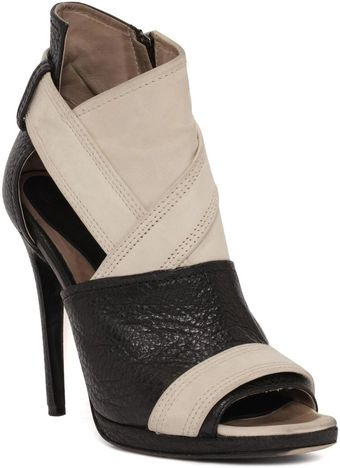 McQ by Alexander McQueen The Lara Peep Toe Boot - Lyst