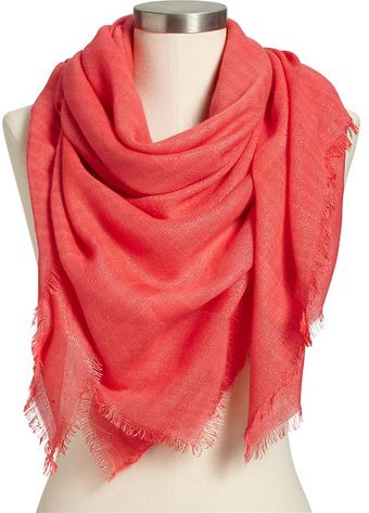 Old Navy Square Gauze Scarves - Lyst
