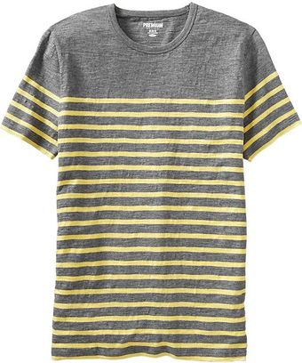 Old Navy Striped Slubknit Tees - Lyst