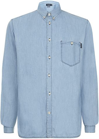 Paul Smith Tailored Fit Denim Shirt - Lyst