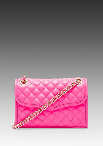 Rebecca Minkoff Mini Affair in Pink - Lyst
