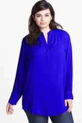 Sandra Ingrish Split Neck Tunic - Lyst