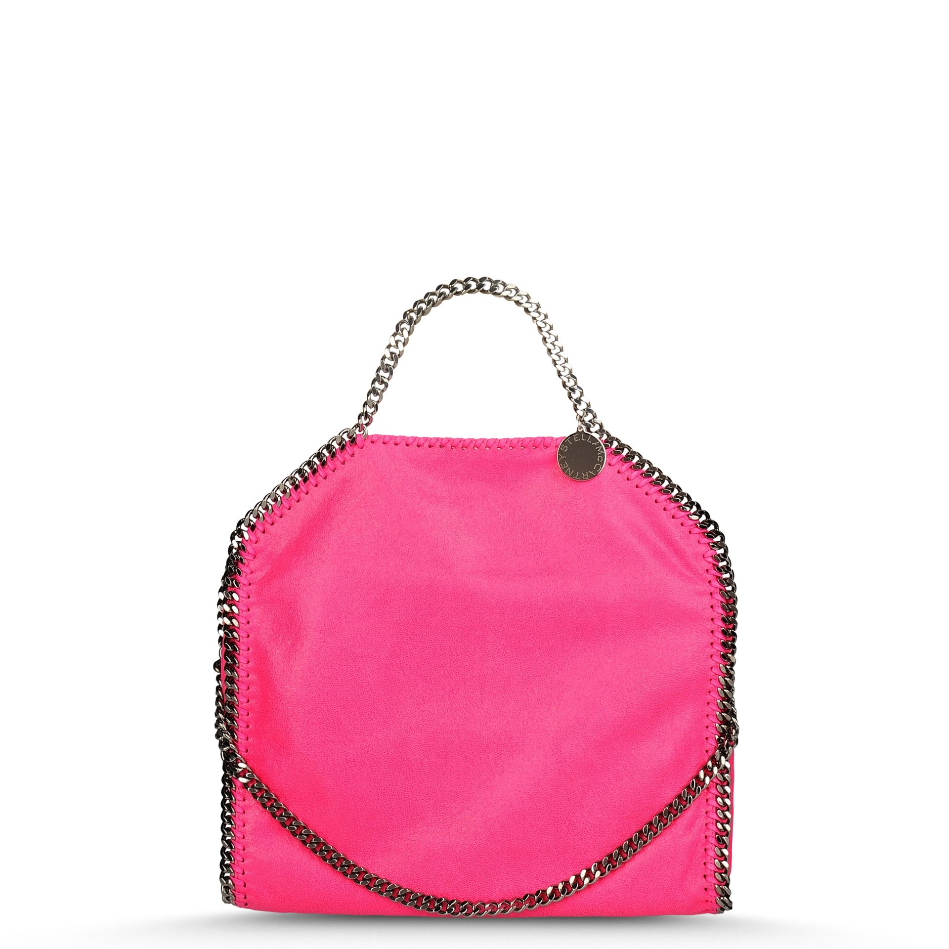 42cb03c9f1e Stella McCartney Falabella Shaggy Deer Fold Over Tote in Pink - Lyst