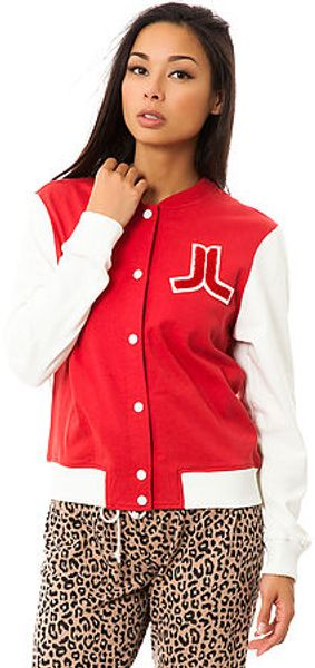 Wesc The Virginia Baseball Jacket - Lyst