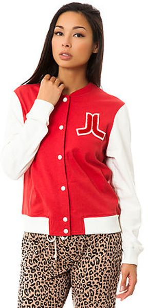 Wesc The Virginia Fleece Baseball Jacket - Lyst