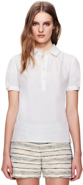 Tory Burch Liza Top - Lyst