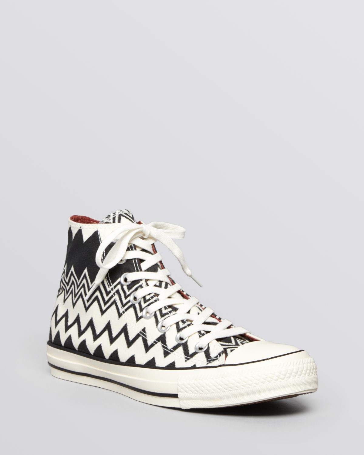 Lyst Converse X Missoni Lace Up High Top Sneakers