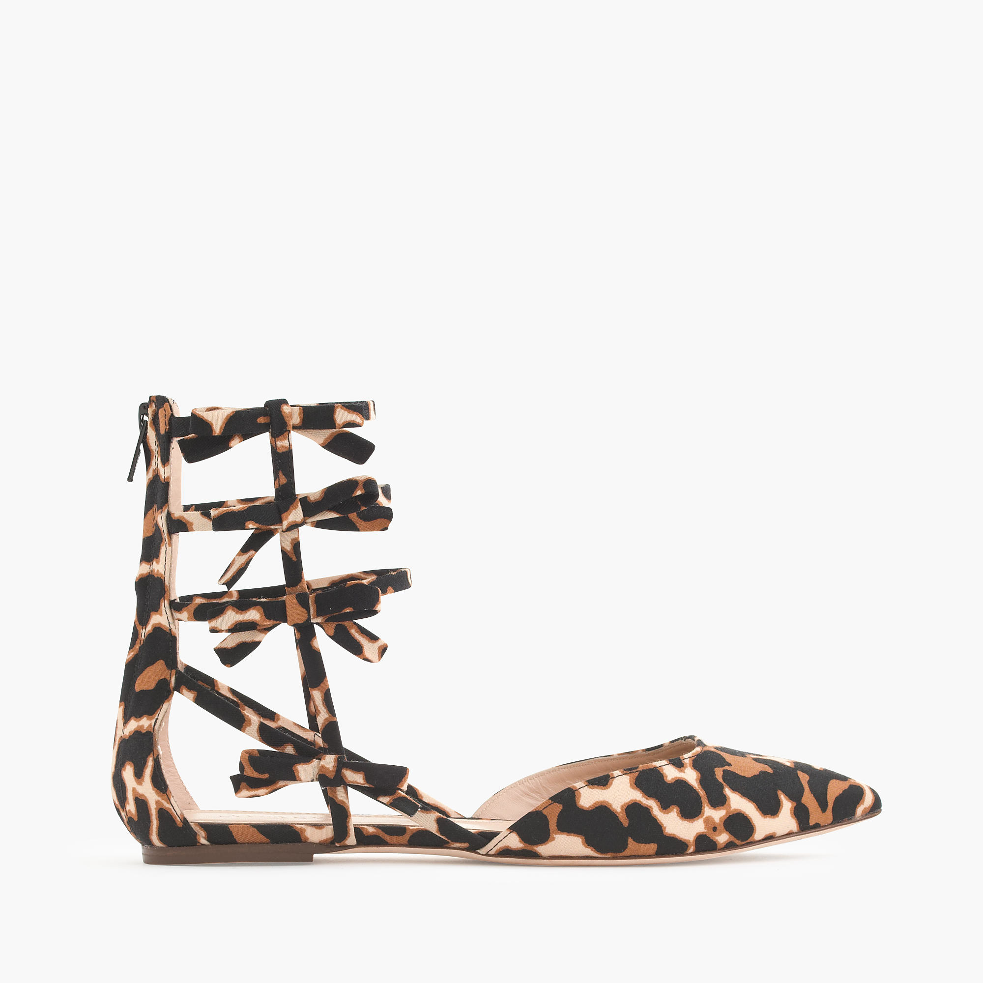 Leopard Flat Tan Ballerina Bow Pump out of 5 out of 5 rating Explanations the care provider gave you about your problem or condition out of 5 out of 5 rating.