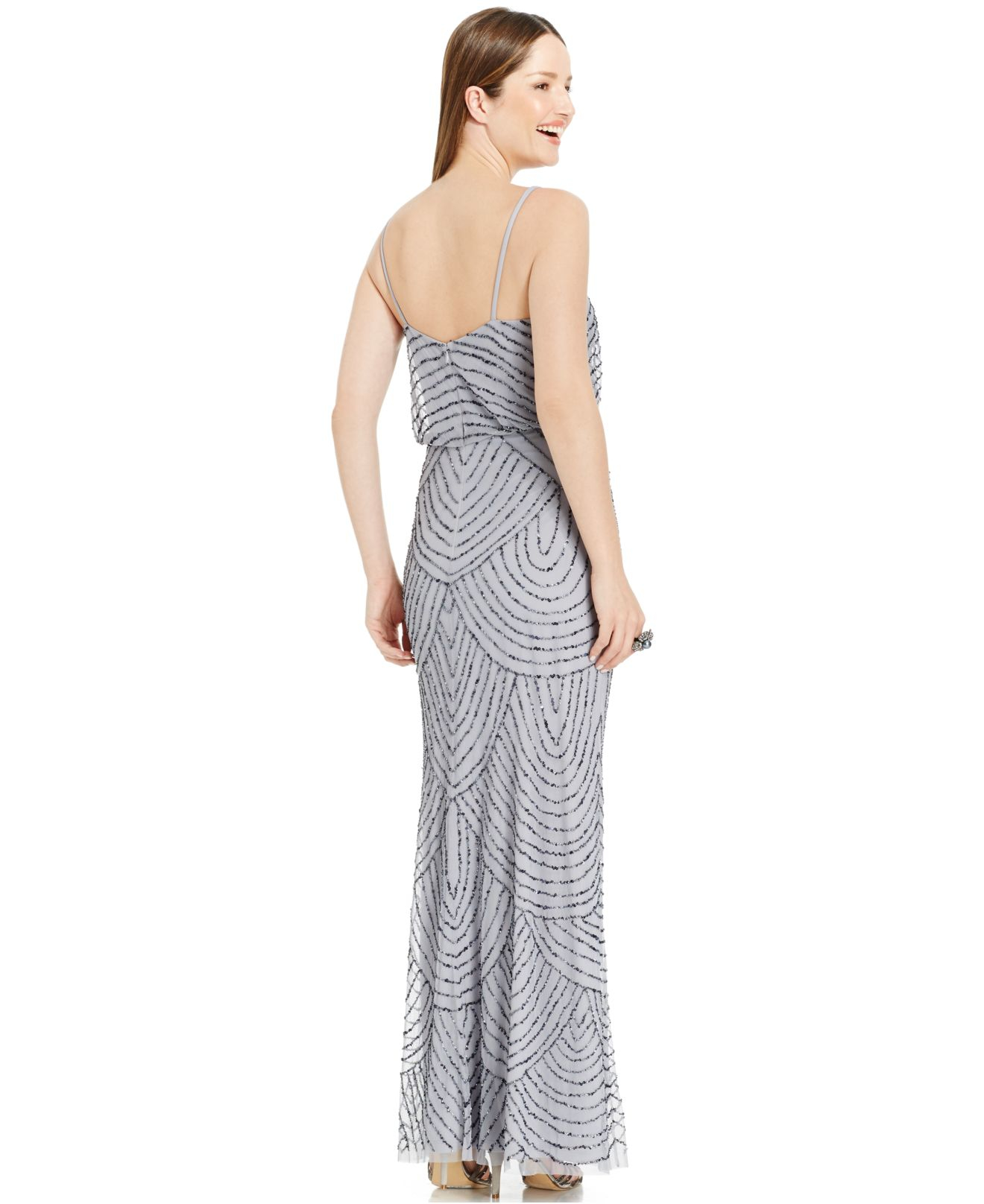 Adrianna papell petite gown / Recent Sale