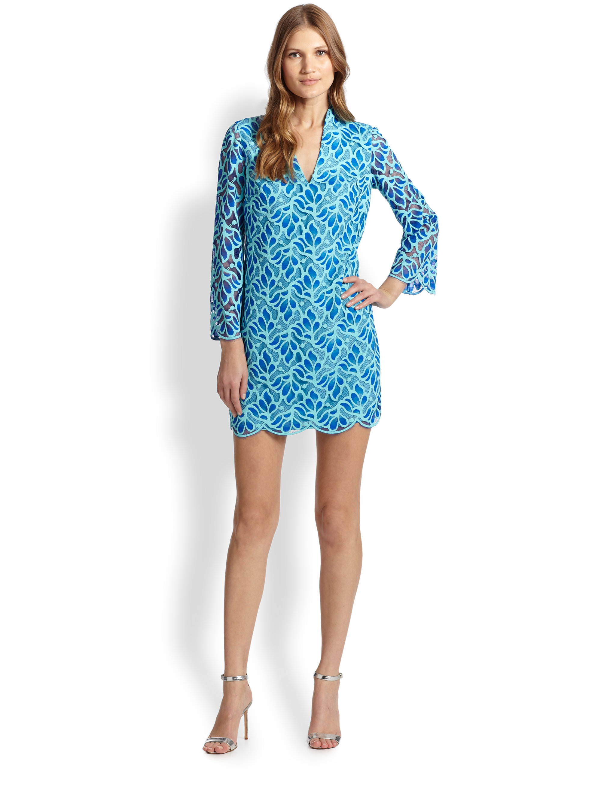Lyst - Lilly Pulitzer Devina Dress in Blue