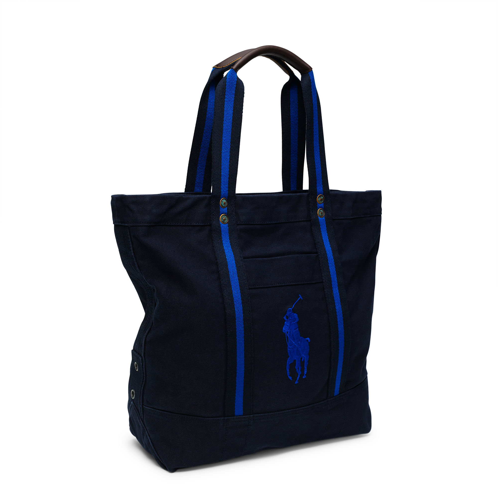Polo Ralph Lauren Canvas Big Pony Tote in Blue for Men - Lyst 8cd86a7eaa453