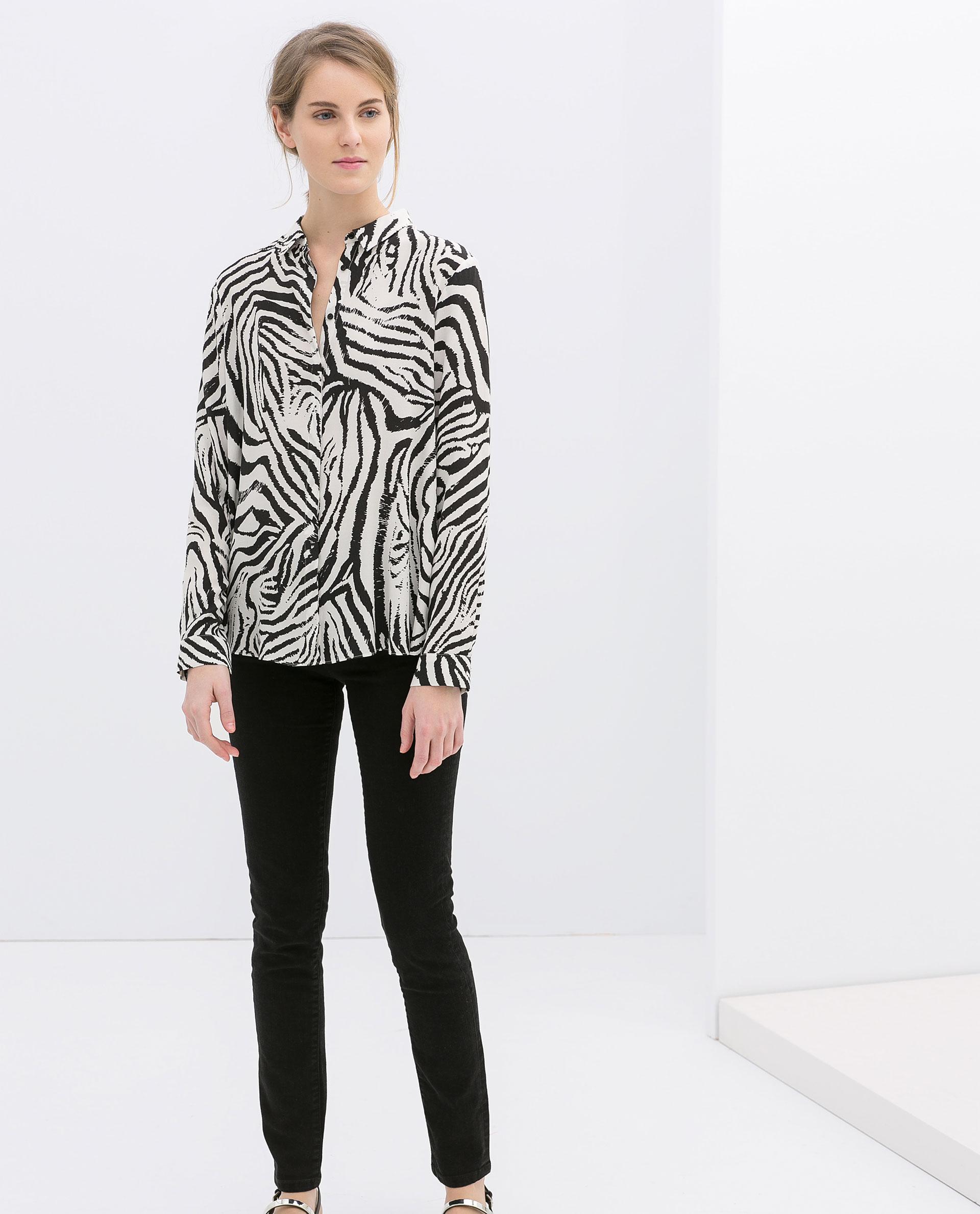 Zara Zebra Blouse 54
