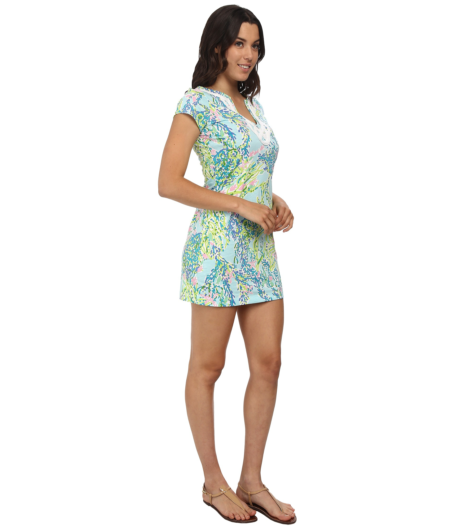 c33e03c3da40bf Lilly Pulitzer Brewster Dress in Green - Lyst