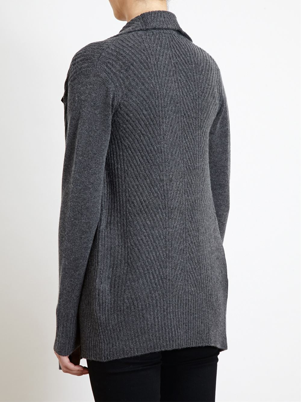 Gray Crew Neck Sweater Women S