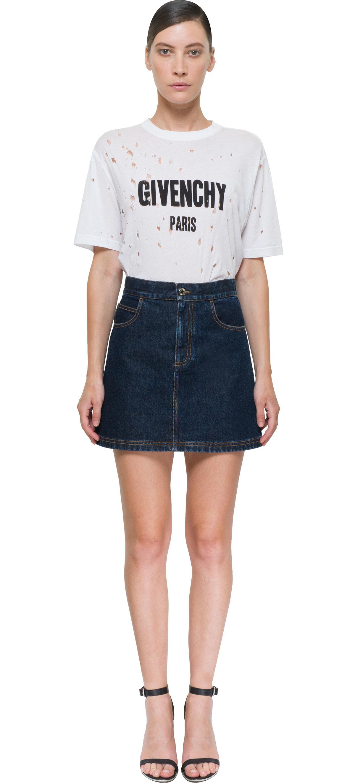 Blue Jean Mini Skirt 81