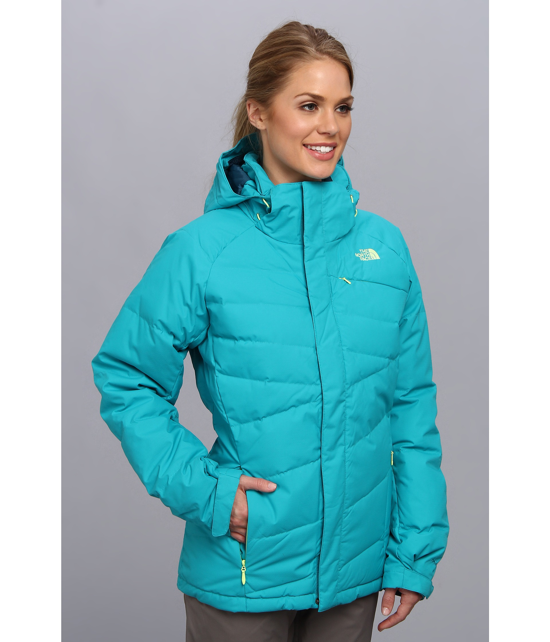Lyst - The North Face Heavenly Down Jacket in Blue 24980b8f3