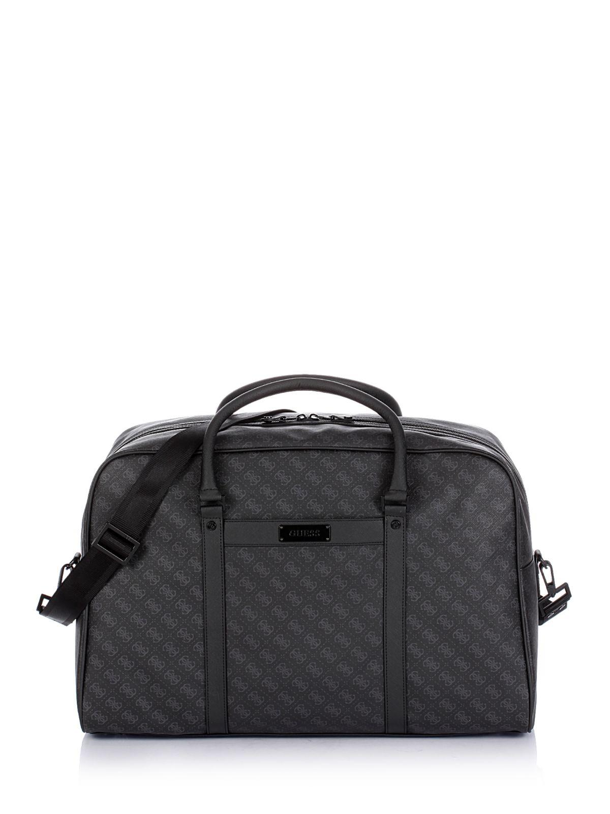 Guess Myself Travel Bag in Black for Men
