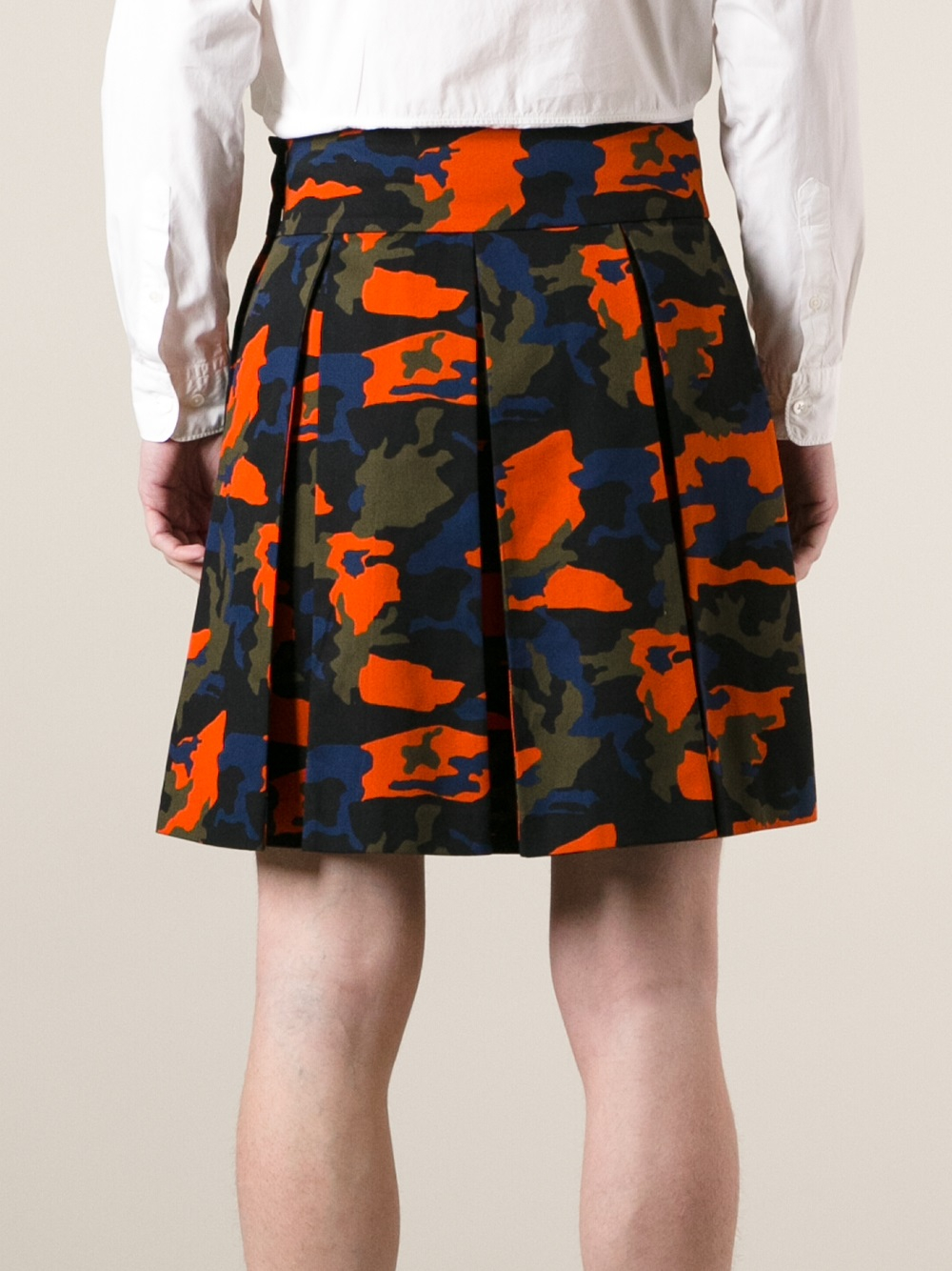 Lyst Givenchy Camouflage Kilt In Green For Men