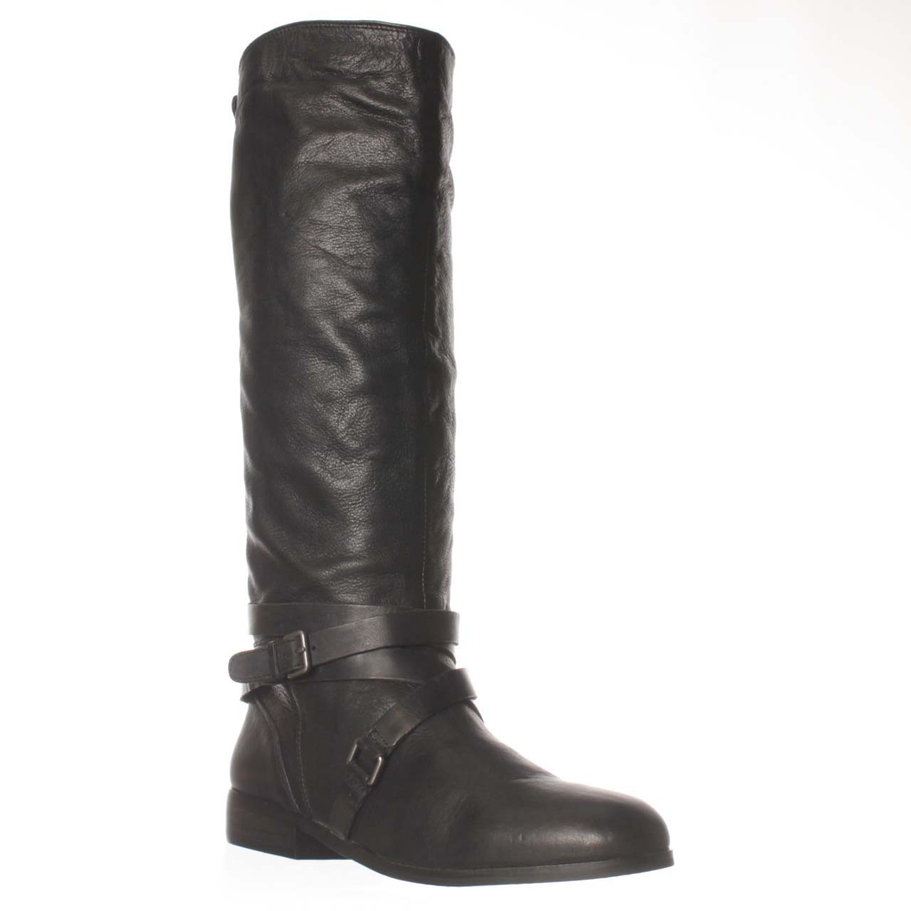 dolce vita laila knee high boot in black lyst