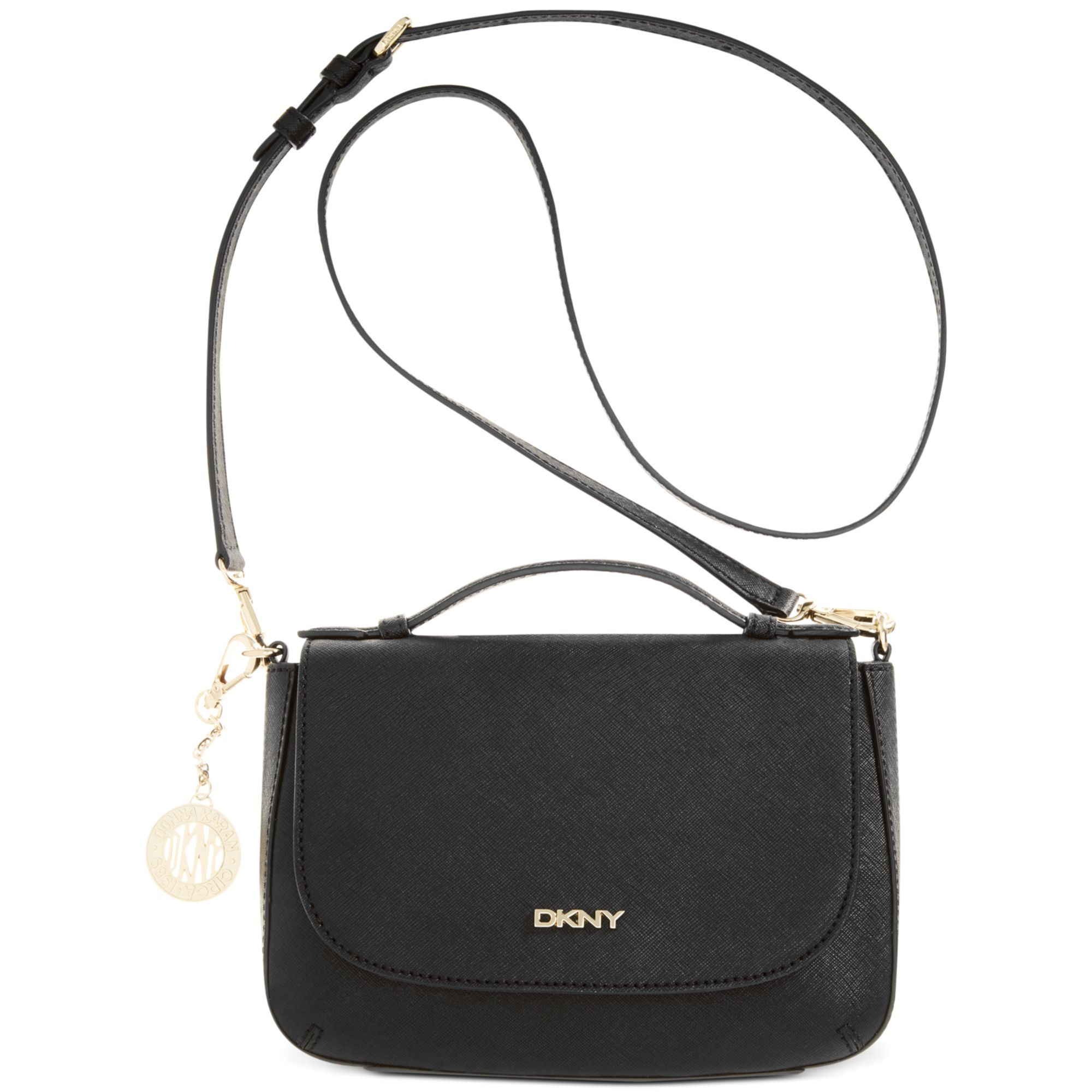 365193796472 Dkny Bryant Park Small Flap Saffiano Crossbody Bag | Stanford Center ...