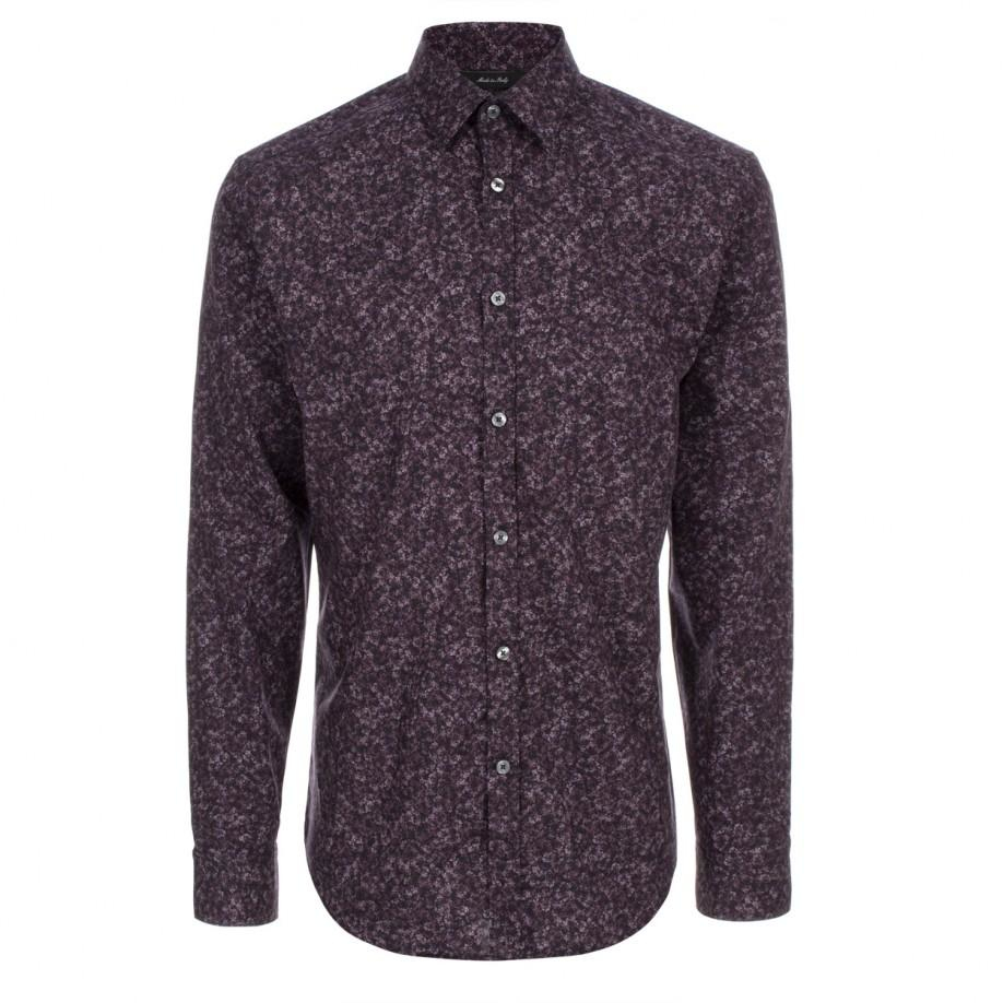 Paul smith 'the Byard' Shirt in Floral for Men (Purple)