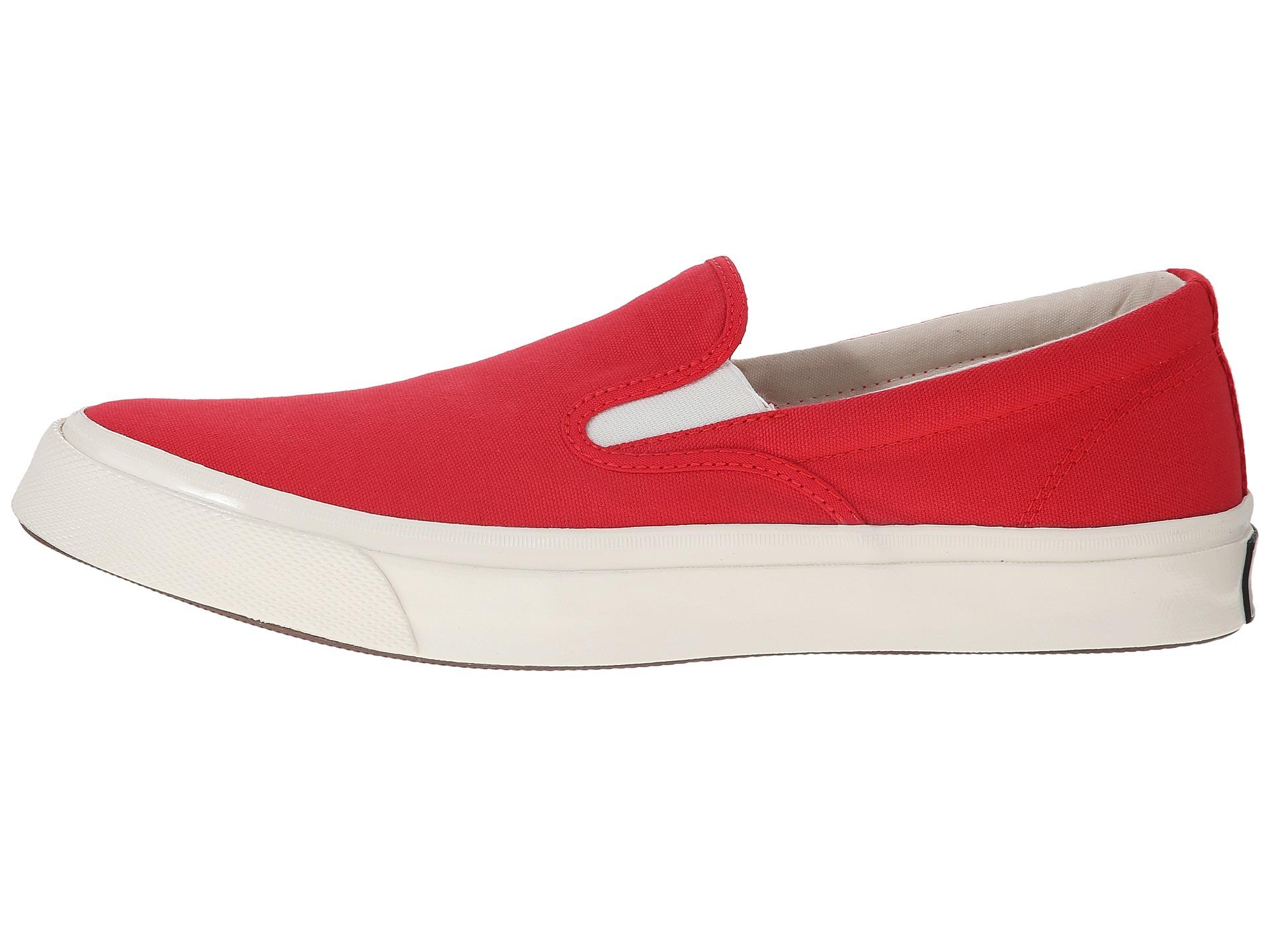 23ea076d9a83 Lyst - Converse Deck Star  70 Slip in Red