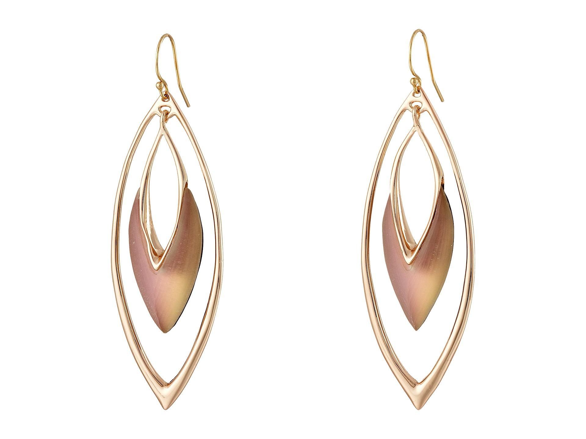 Lyst - Alexis Bittar Orbiting Basic Wire Earrings in Pink