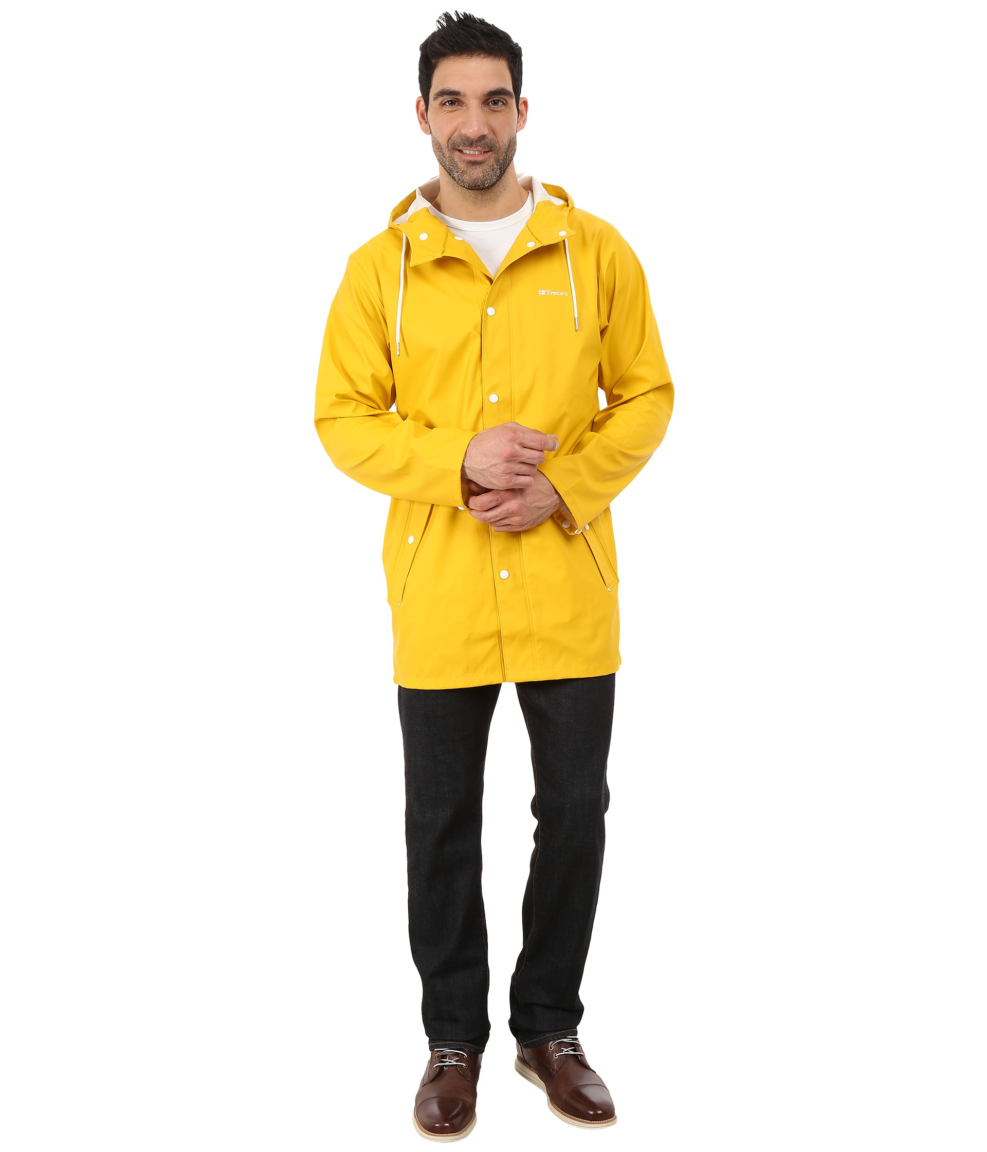Tretorn Wings Rain Jacket in Yellow for Men | Lyst