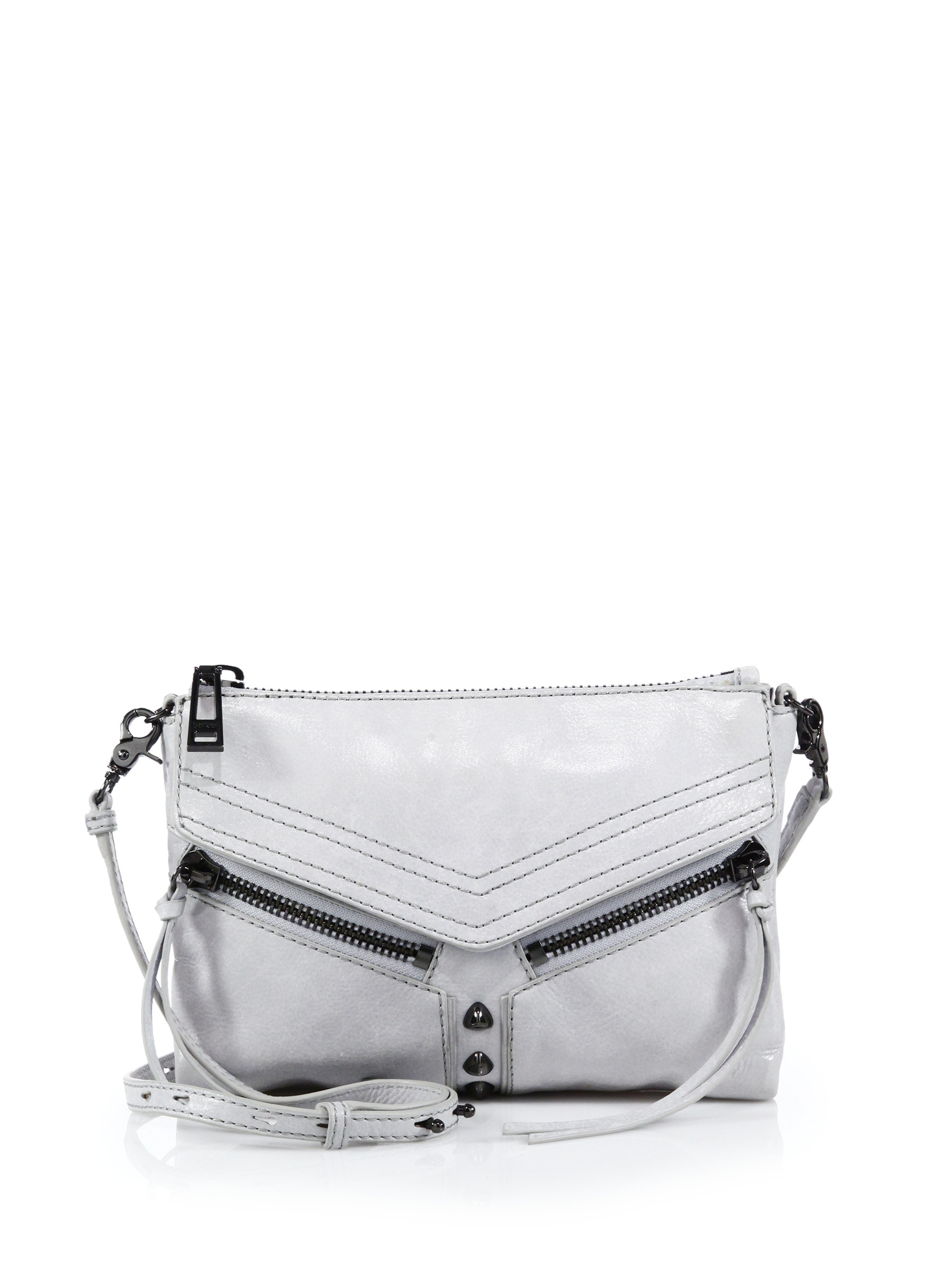 Lyst Botkier Trigger Leather Crossbody Bag In Yellow