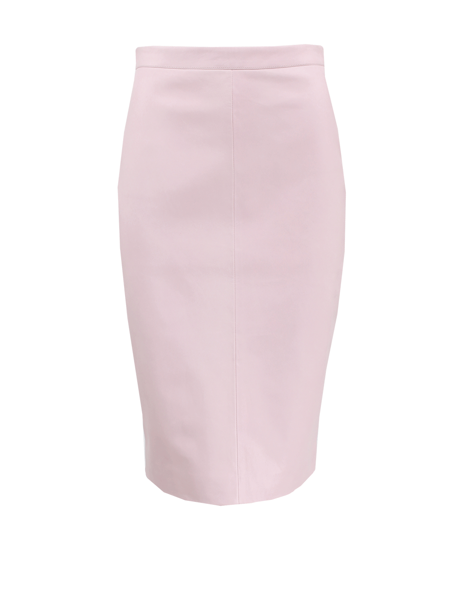 givenchy pink leather pencil skirt in pink lyst