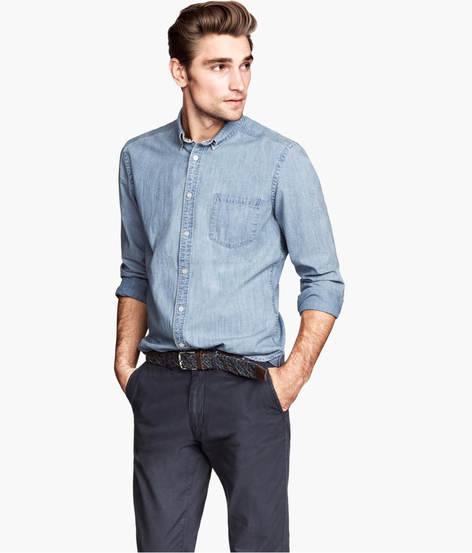 matches. ($ - $) Find great deals on the latest styles of Chambray work shirt. Compare prices & save money on Men's Shirts.