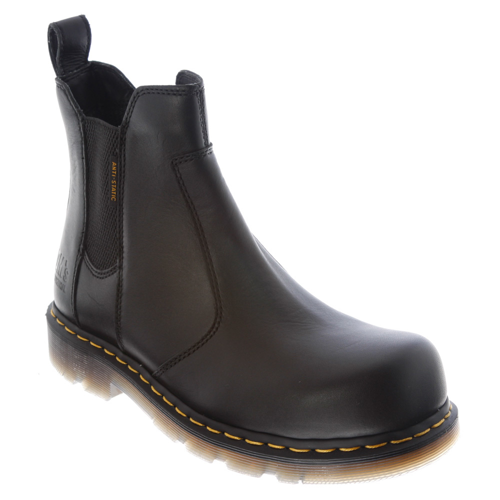 lyst dr martens flux fusion st chelsea boot in black. Black Bedroom Furniture Sets. Home Design Ideas