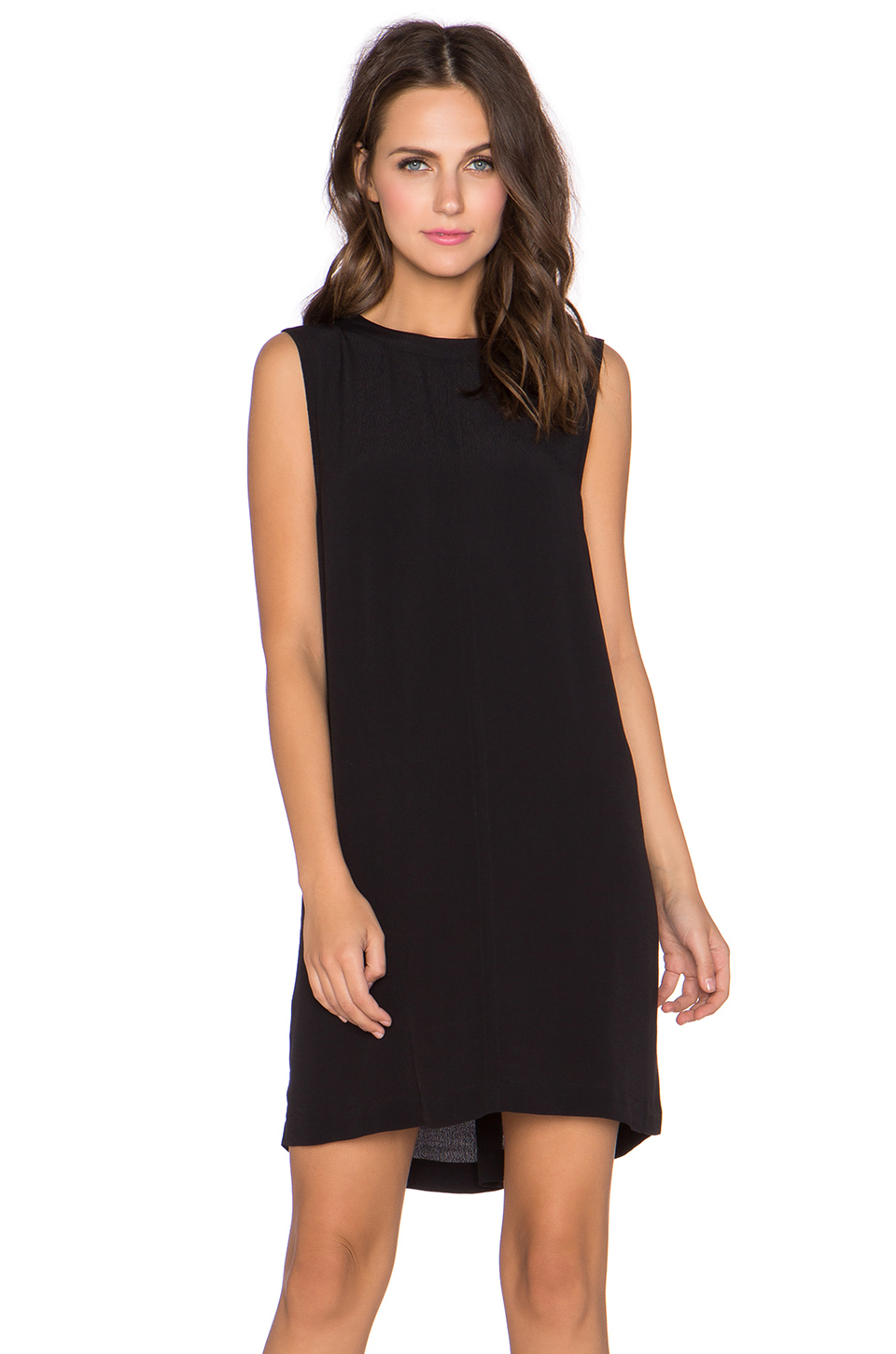 Neuw Gloria Sleeveless Dress in Black | Lyst