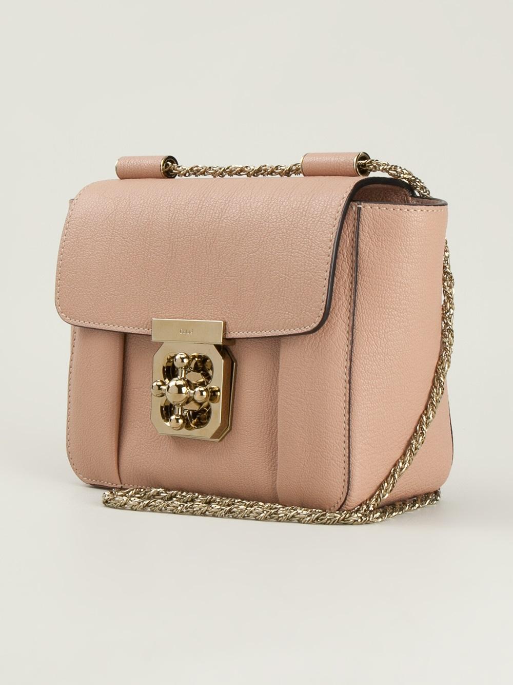 4e445ddc274 Chloé Small  Elsie  Shoulder Bag - Lyst