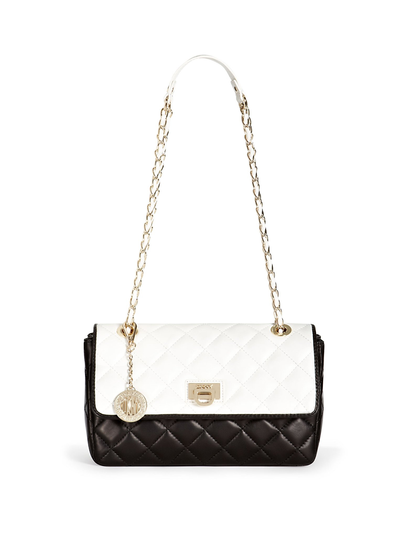 Dkny Quilted Leather Shoulder Bag 80