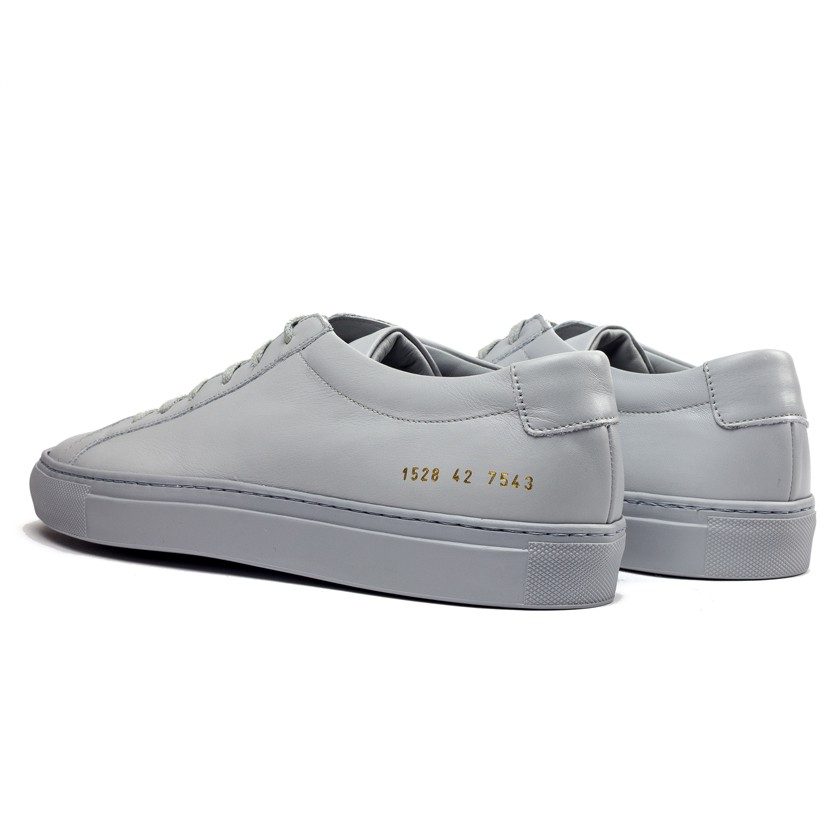 common projects grey original achilles low sneakers in gray for men lyst. Black Bedroom Furniture Sets. Home Design Ideas