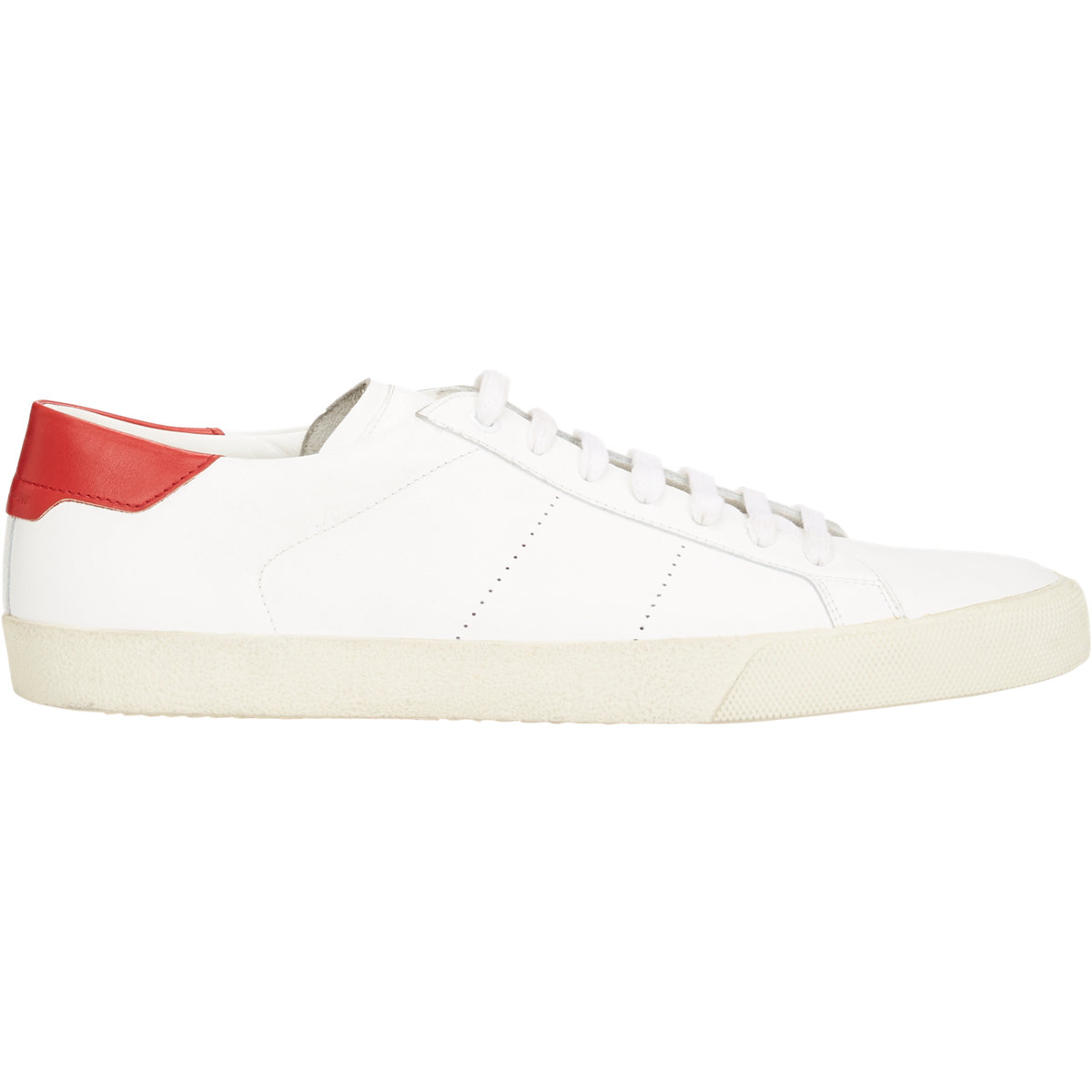 b96e958a3ca6 Lyst - Saint Laurent Sl 06 Court Classic Sneakers in White for Men
