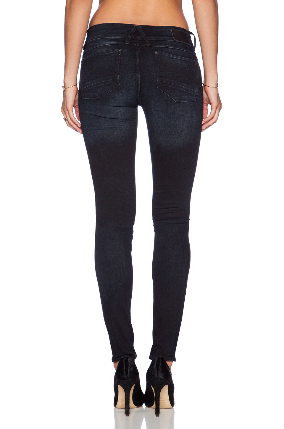 Blue Skinny Lyst Star Raw In G Lynn Mid qcf0rWAfp