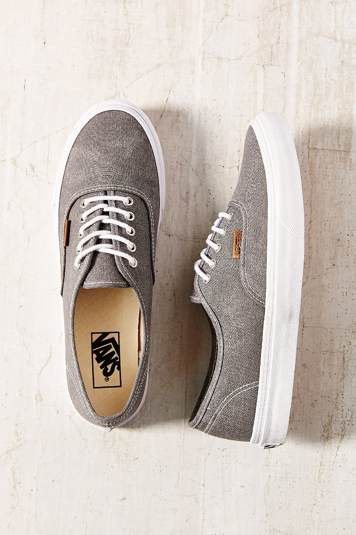 71699c0324 Lyst - Vans Washed Shade Authentic Slim Sneaker in Gray