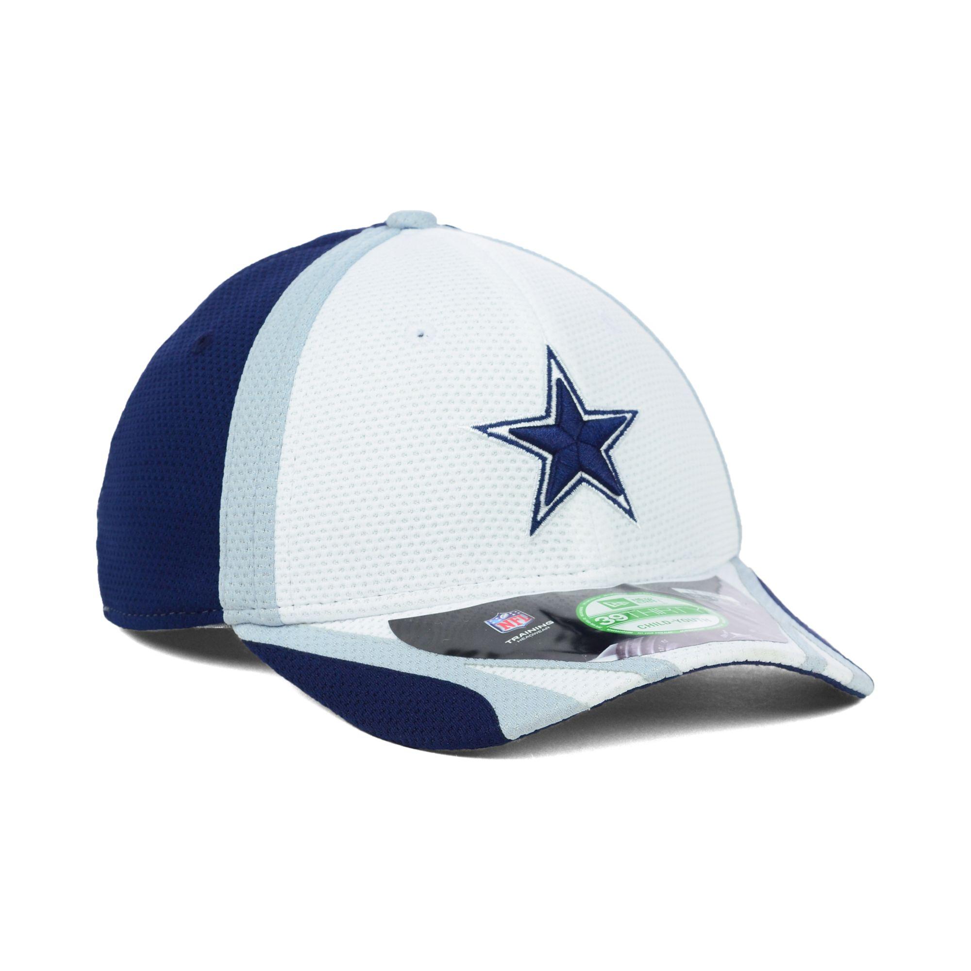 810bf2ba3a5 Lyst - KTZ Dallas Cowboys Training Camp 39thirty Kids Cap Or ...