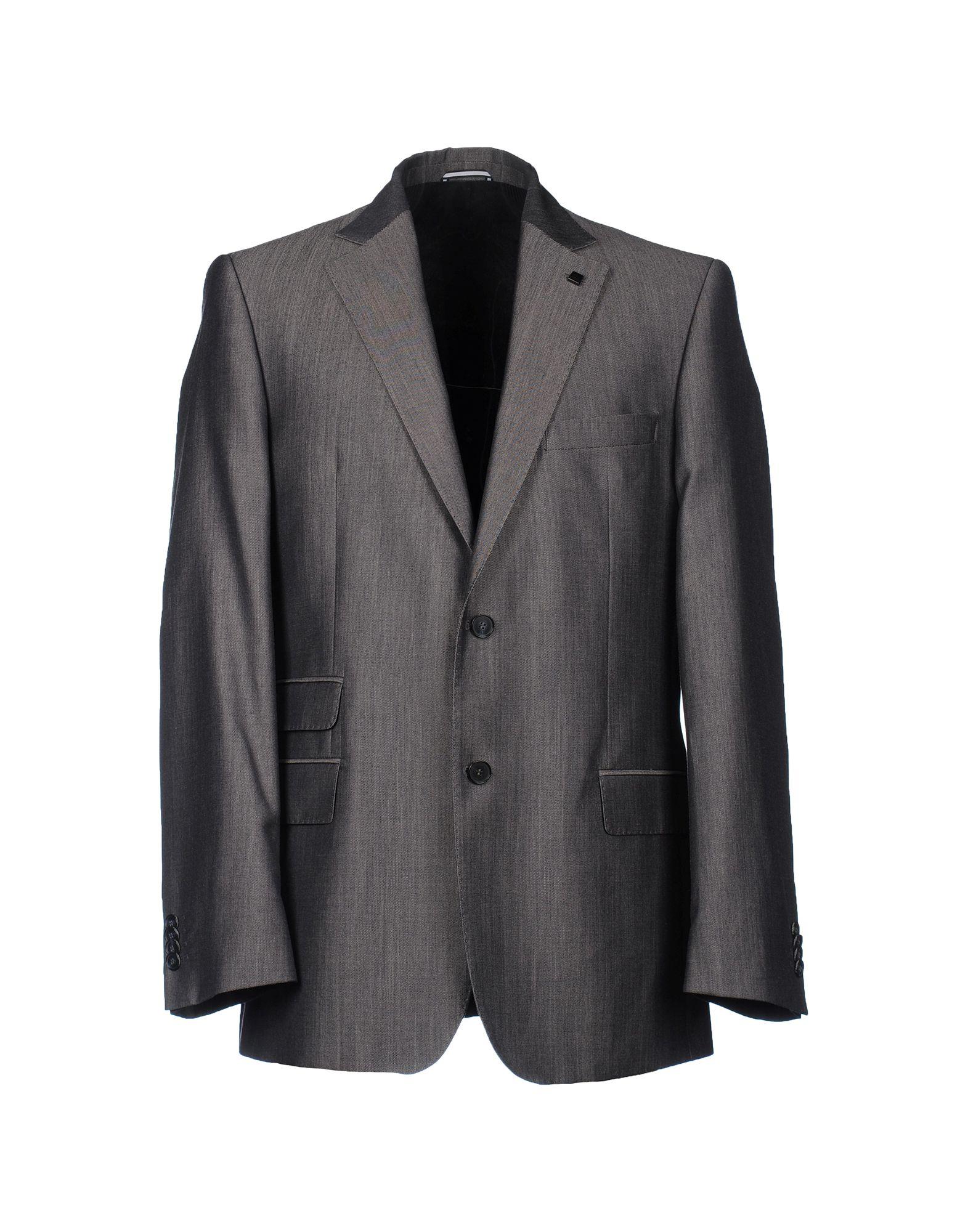 Lagerfeld Blazer In Gray For Men Grey Lyst
