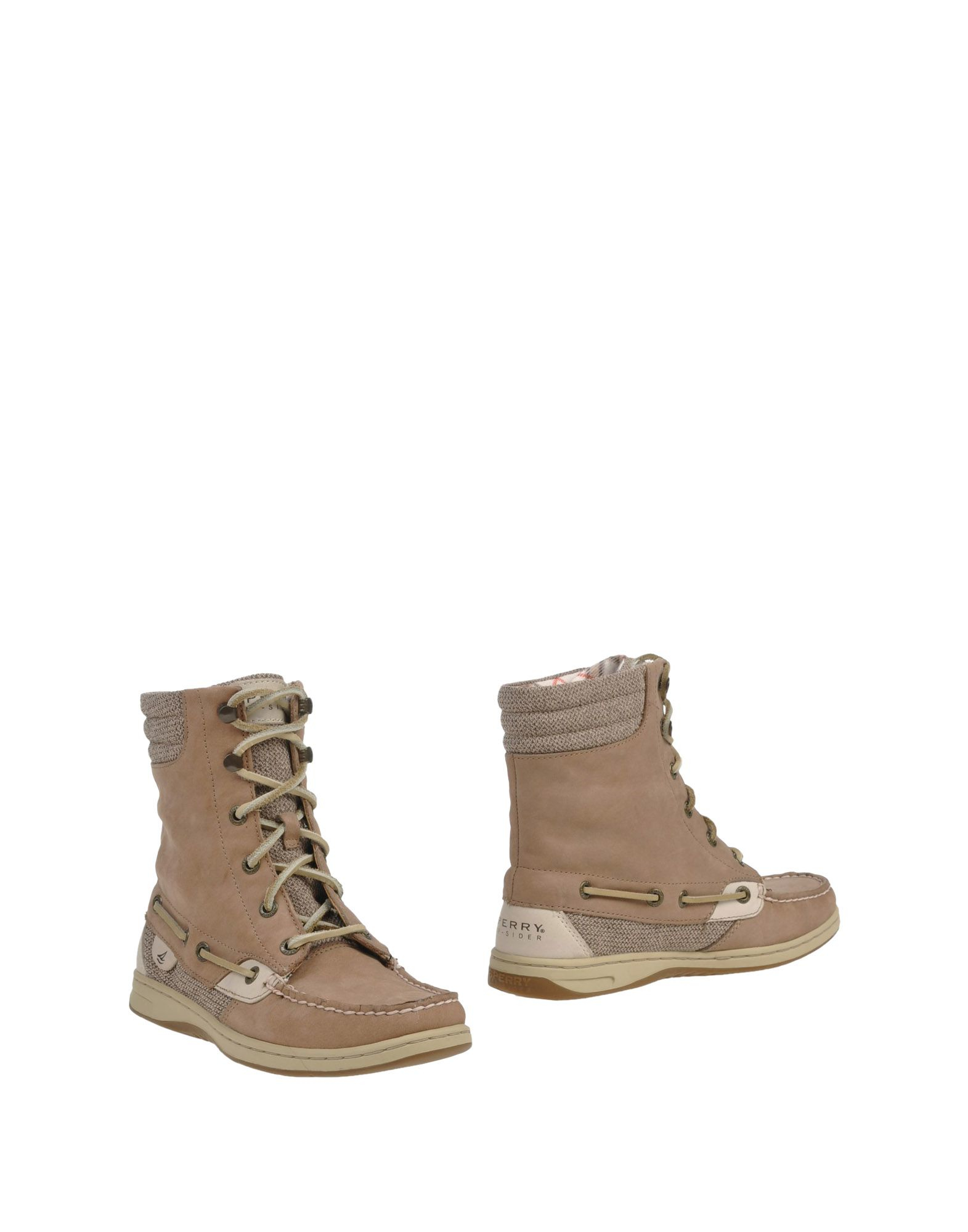 sperry top sider ankle boots in lyst