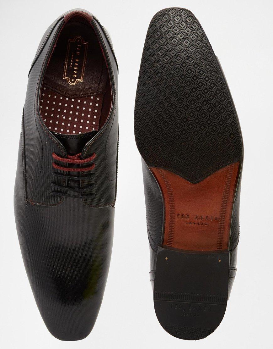 Ted Baker Black Textured Shoe