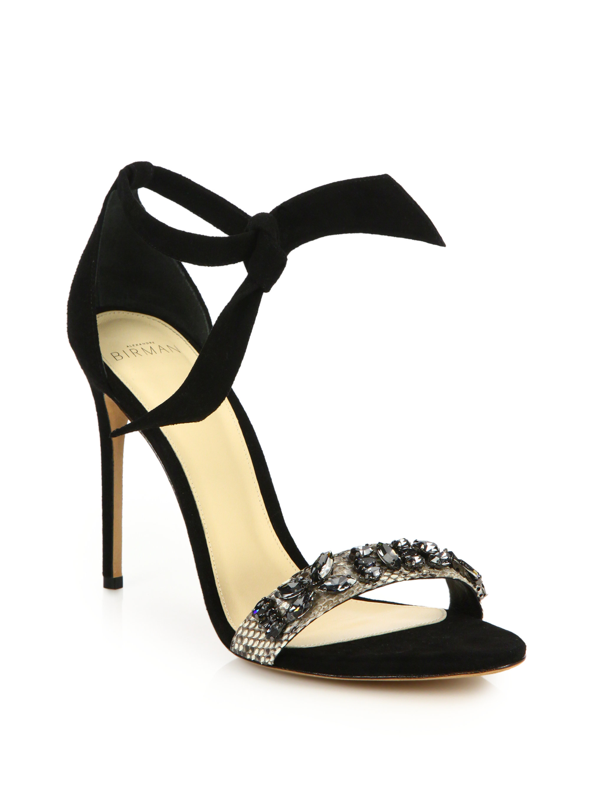 ALEXANDRE BIRMAN New Clarita Midi velvet sandals Cheapest Cheap Sale Outlet Store Cheap In China Footaction Cheap Price d1xIBK