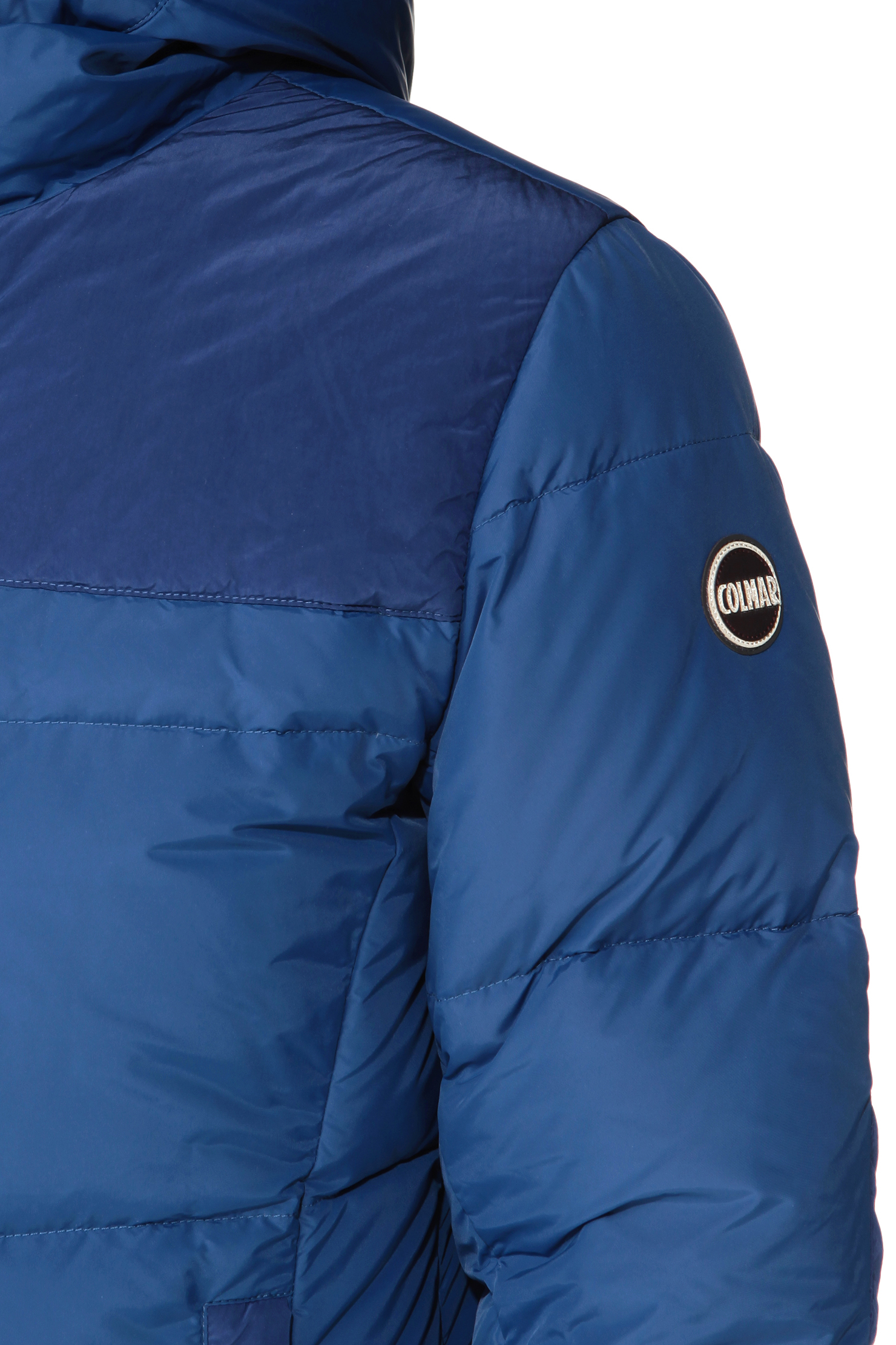 Colmar quilted jacket in blue lyst for Blue piscine colmar