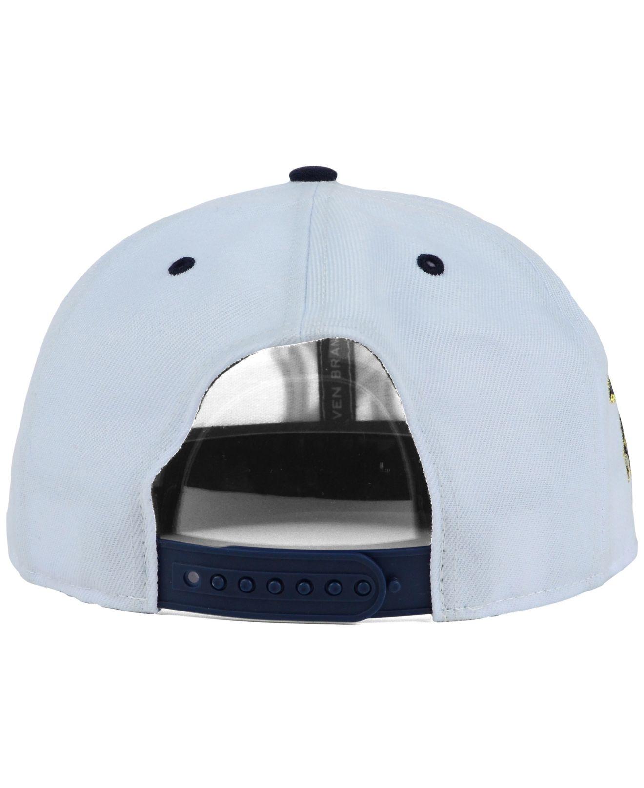 100% authentic 2da07 4b2ec ... lyst 47 brand new york yankees gold rush snapback cap in white for men