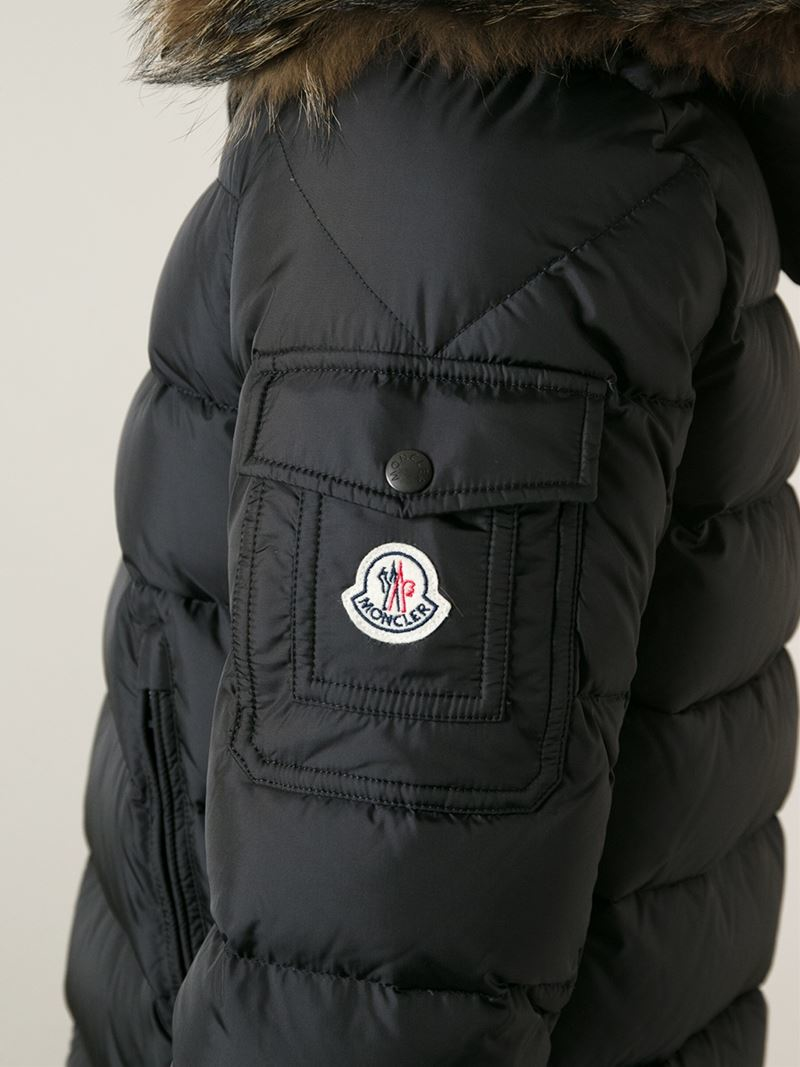 6f4c28eb9775 Moncler  byron  Padded Jacket in Black for Men - Lyst